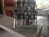 20 jars Ferris spice rack