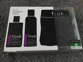 FCUK BOXERS AND BODY DUO RRP £15.