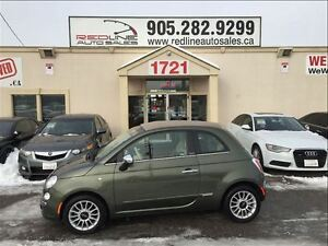 2013 Fiat 500C Lounge, Convertible, Brown Leather, WE APPROVE AL