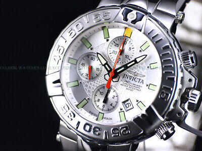 RARE Invicta 47mm LE SAN II Swiss Made 7750 Automatic Chrono Sapphire 500M Watch