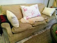 For Sale - 3 seater neutral sofa