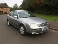 Ford Mondeo 2.0 Zetec 5dr SERVICE HISTORY, MOT MARCH 17