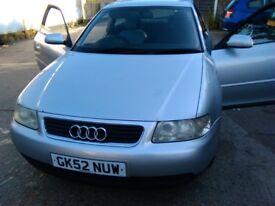 Audi A3 1.6 litre for sale