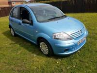 2006 CITREON C3 PETROL IN BLUE AND IN EXCELLENT CONDITION