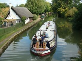 Hotelboat crew needed for summer season cruising the Southern Waterways with up to eight guests