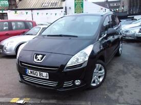 Peugeot 5008 1.6 HDi 112 Exclusive 5dr (black) 2010