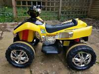 Electric Quad bike with MP3 port