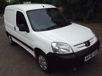 L@@K 2007 Peugeot Partner Van **11 MONTHS MOT**Side Door/a Roof Vent**Ideal for dog courier/groomer*
