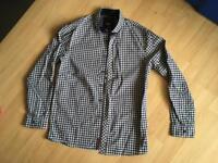 Next long sleeved check cotton shirt age 12