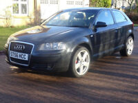 AUDI A3 2.0 TDI 3d 138 BHP FULL SERVICE RECORD ++ ++TIMING BELT CHANGED++