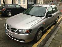 NISSAN ALMERA 1.5 S PETROL MANUAL VERY LOW MILEAGE ONE FORMER KEEPER ONLY ##995