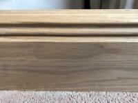 Solid oak skirting boards