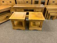 JB Global solid oak tables * free furniture delivery *