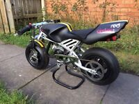 Mini Moto 49cc Brutally Rapid Lightweight Street Fighter pocket rocket