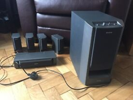 Sony SA - W305G Sub Woofer with Micro Satellite Speaker System - SS - CN305 & SS - V305