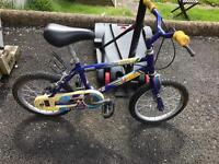 1x boys and 1x girls bikes working well only £12 each