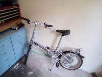 dawes folding bike