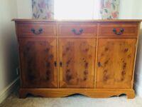 Yew Sideboard - useful storage unit - upcycling - retro