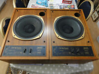 Tannoy 12 inches Little Red Monitor Dual Concentric Speakers nice Condition perfect working order