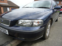2001 volvo v70 2.4 petrol auto cat d now repaired new cambelt lowish mileage for age