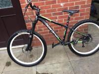 Boardman mountain bike with ROCKSHOX