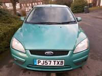 Ford Focus Style Diesel 1.6 5dr Hatchback manual Green Warranted mileage