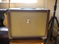 Guitar 1x12 100 watt, speaker cabinet, Dr Z badge, Jensen C12K