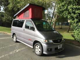 2004 NEW SHAPE MAZDA BONGO AERO POP TOP NEW REAR CONVERSION 46K & FULL ELECTRICS