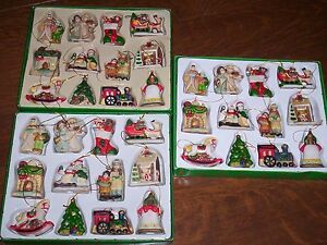 36 matching vintage Christmas tree ornaments / decorations Kitchener / Waterloo Kitchener Area image 2