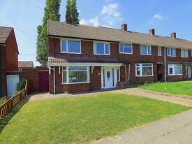 END TERRACED 3 BEDROOM HOUSE/GARDEN FRONT AND REAR - ROSEWORTH- REDUCED