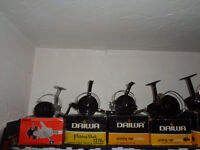 daiwa freshwater 12 reels collection 1960s - 170s - 1980s