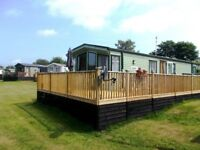 Static Caravan on Envious plot overlooking the river reduced price open to offers