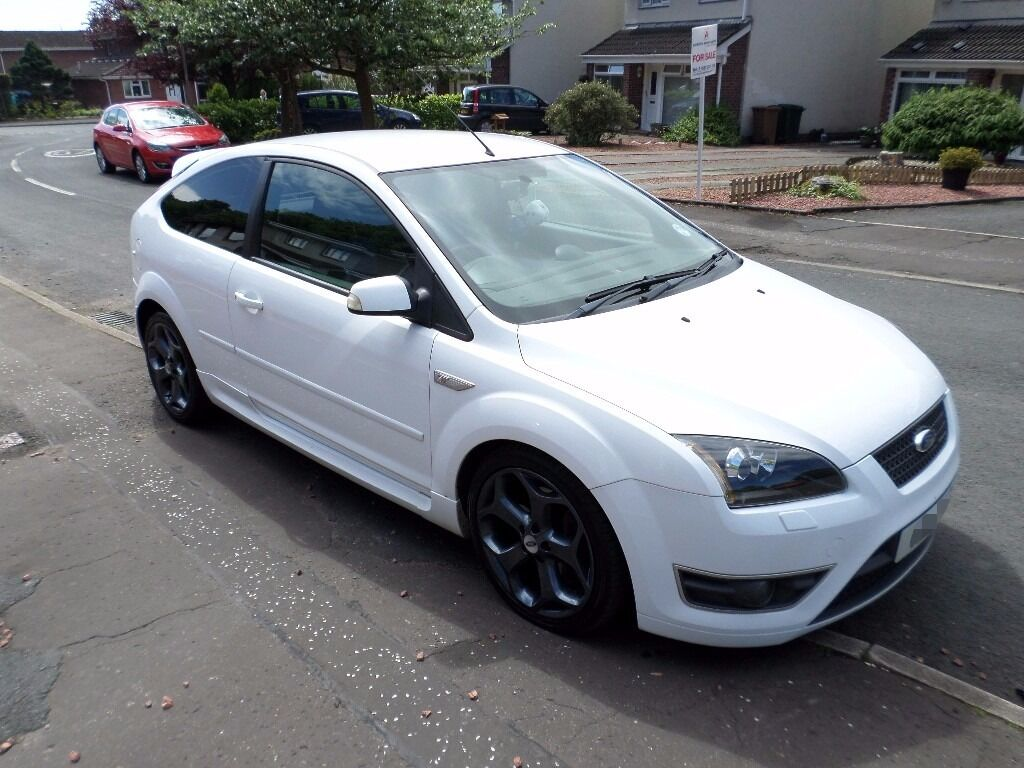 ford focus st 2 2007 plate white low mileage 55 200. Black Bedroom Furniture Sets. Home Design Ideas
