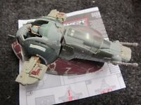 STAR WARS TRANSFORMER slave VEHICLE IN PLAYED WITH BUT GOOD CONDITION, INSTRUCTIONS INC - £10 EACH