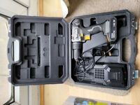 For sale used 18v Titan hammer drill, charger, one 1.5ah battery and case