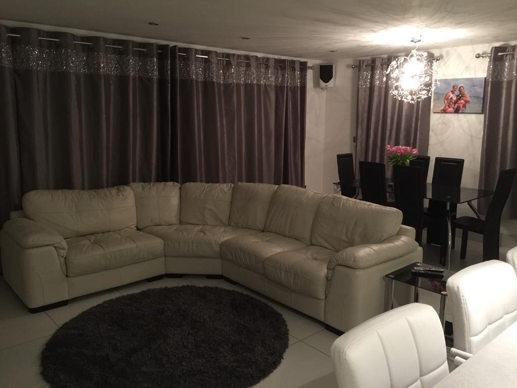 Corner Cinema Style Sofa