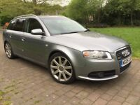 2005 AUDI A4 2.0 AVANT TDI S LINE FACELIFT FSH # ROOF RAILS # PRIVACY GLASS # FULL LEATHER INTERIOR