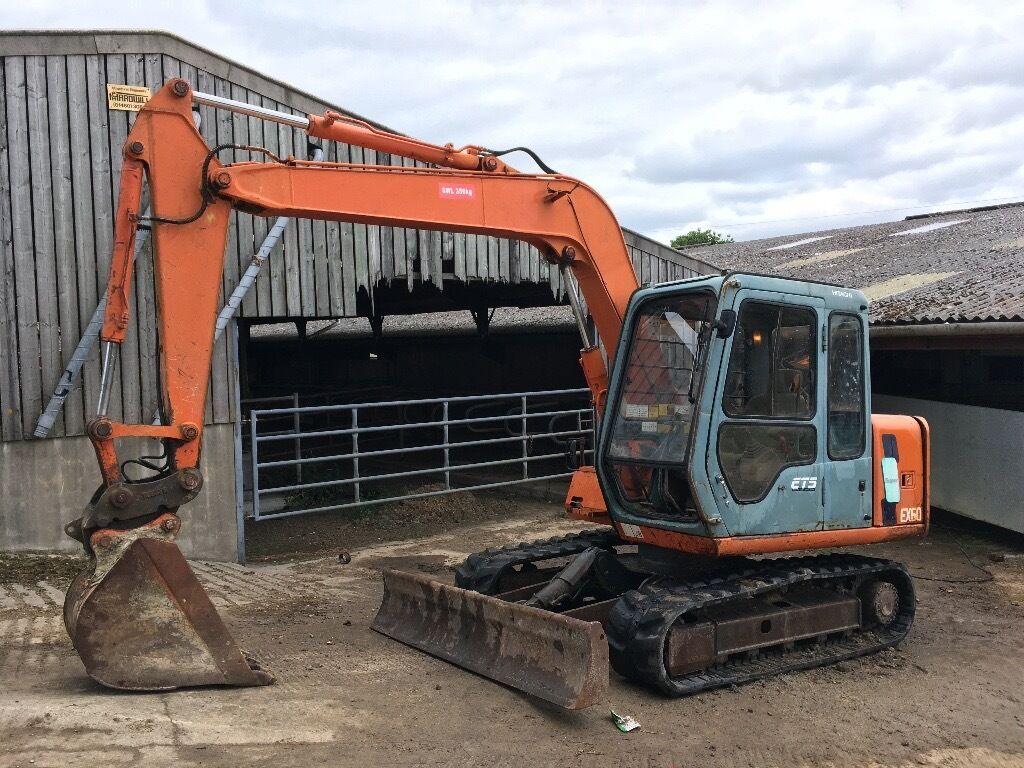 Hitachi Ex60 2 Digger Excavator Export Welcome In