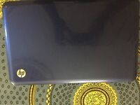 HP laptop blue colour i5 processoror 4 GB RAM