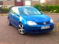 2005 VW Golf 1.6 FSi Auto DSG 116000 Mile 10 Month MOT 5 Door Hpi Clear No Problem 3 Month Guarantee