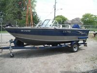 2001 Lund Boat Co 1800 Fisherman