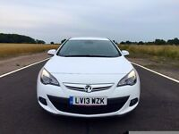 2013 VAUXHALL ASTRA GTC SRI 1.4i TOP SPEC VERY LOW MILEAGE HPI CLEAR CHEAPEST IN THE COUNTRY