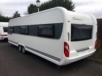 Hobby Caravan 695 Vip Collection (2015) Island Bed. One owner From New! Like Tabbert/Fendt