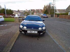 Toyota Celica SR Special Edition 1.8 16v 1999 - 97,000 miles - Black