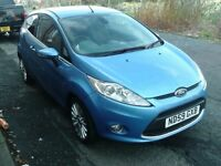 2009 59 FORD FIESTA 1.4 TITANIUM 3DR ** FULL SERVICE HISTORY ** 12 MONTH MOT ** VERY NICE CAR **