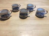 Set of 5 Collectible Soup Mug Bowls