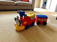 Disney Mickey Mouse Activity Choo-Choo Train with working batteries!
