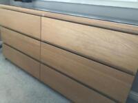 Ikea 6 drawer malm