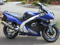 yamaha thunderace 1000 1999 T reg 18000miles service and moted