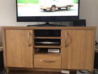 Oak tv sideboard